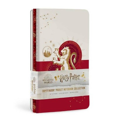 Harry Potter: Gryffindor Constellation Sewn Pocket Notebook Collection - (Harry Potter: Constellation) by  Insight Editions (Paperback)
