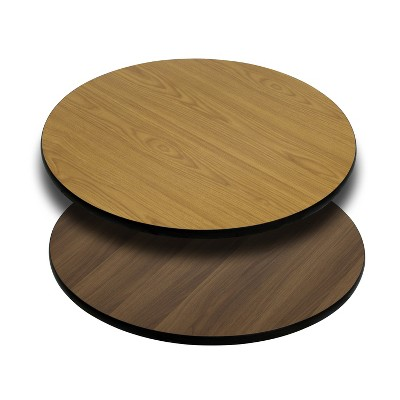 Flash Furniture 36'' Round Table Top with Reversible Laminate Top