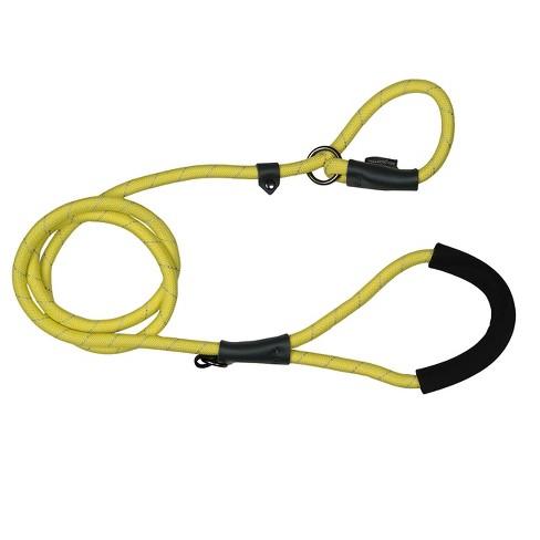 Bow & Arrow Reflective Comfort Slip Dog Leash - Yellow - image 1 of 1