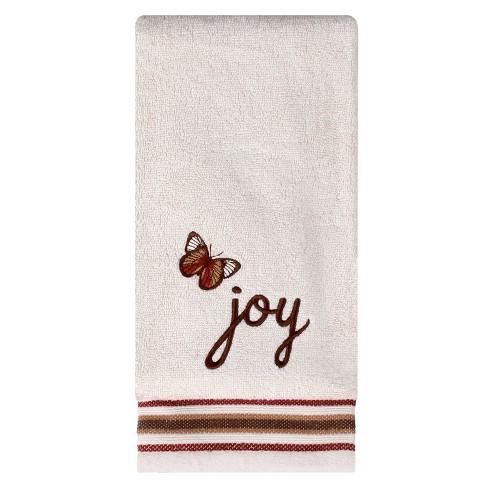 Faithful Birds Hope Hand Towel Cream - Saturday Knight Ltd. - image 1 of 2