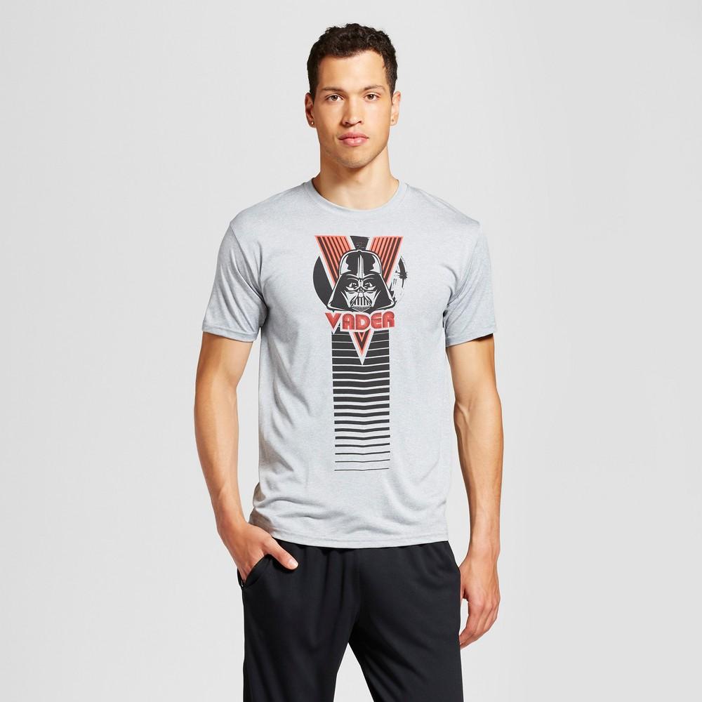 Men's Star Wars Vader Graphic T-Shirt - Silver XL