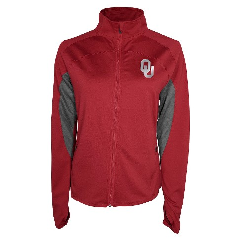 Women's Oklahoma Sooners Track Jacket - Red M - image 1 of 1