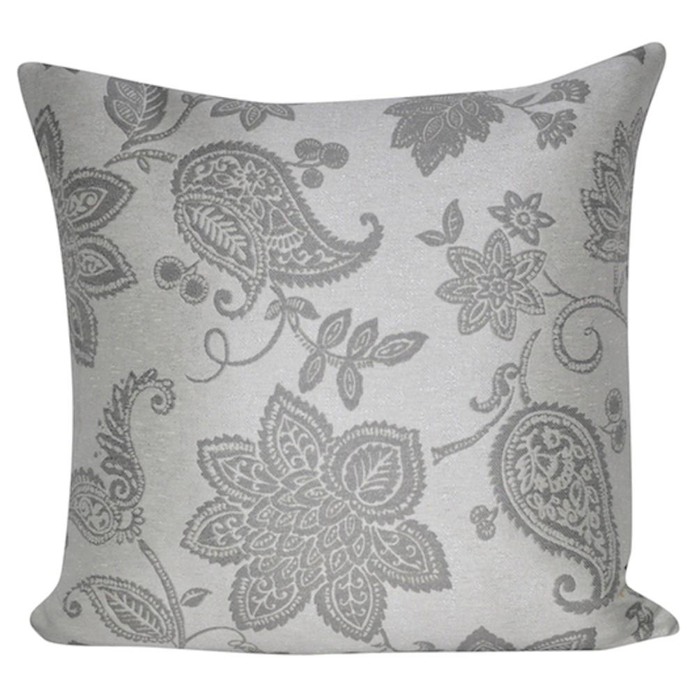 Dark Gray Throw Pillow - Loom & Mill