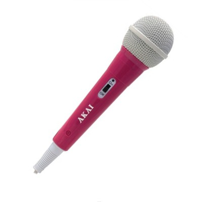 Uni-Directional Dynamic Microphone - Pink