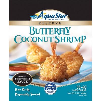 Aqua Star Coconut Breaded Shrimp - Frozen - 24oz