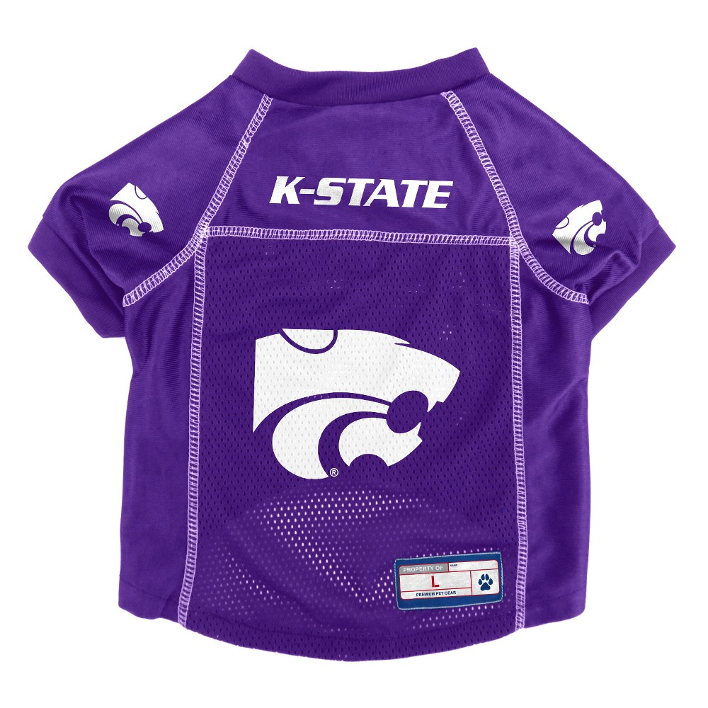 Kansas State Wildcats Little Earth Pet Football Jersey - S, Multicolored