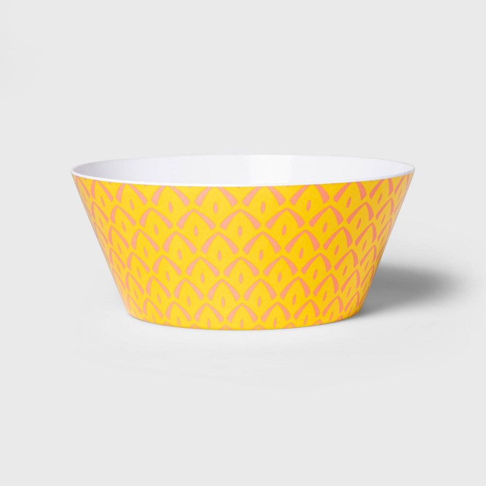 Image of 115oz Melamine Pineapple Serving Bowl - Sun Squad