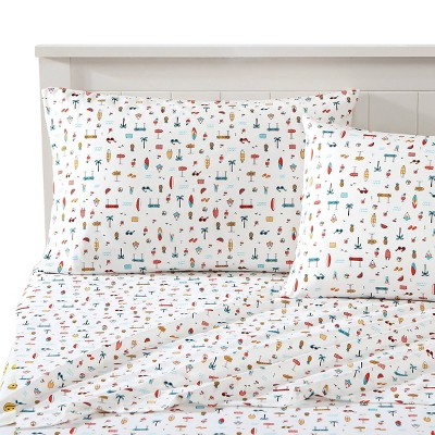 Beach Bum Novelty Printed Sheet Set - Joe Boxer