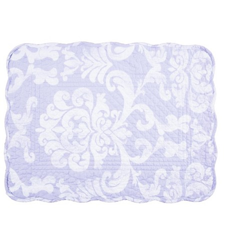 C F Home Alexa Damask Cotton Quilted Rectangular Reversible 13 X 19 Placemat Set Of 6 Target