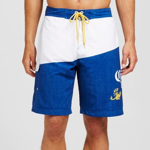 537d7b185e Men's Corona® Logo Board Shorts White M : Target