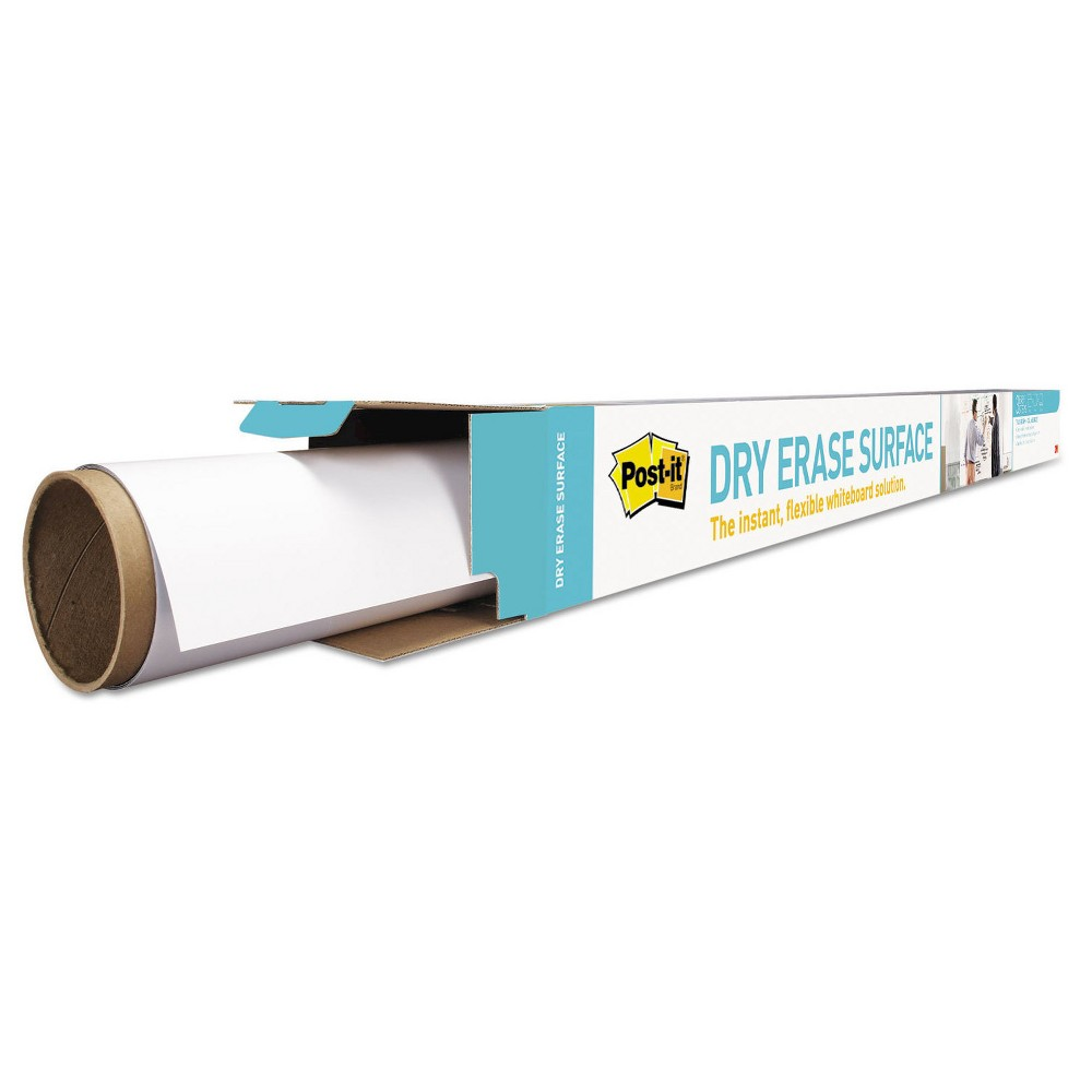 Post-it Flexible Dry Erase Surface with Adhesive Backing, 72
