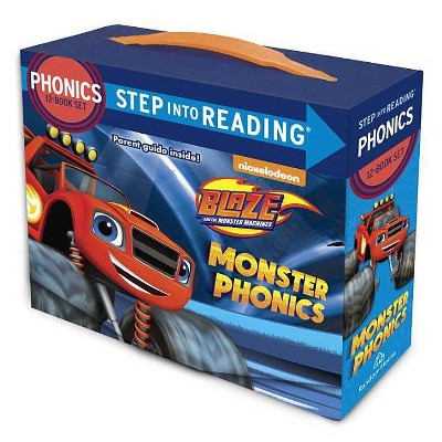 Monster Phonics (Blaze and the Monster Machines) - (Step Into Reading) by  Jennifer Liberts (Mixed Media Product)