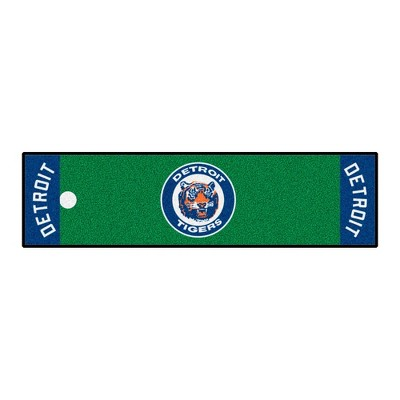MLB Detroit Tigers 1964 Retro Collection 1.5'x6' Putting Mat - Green