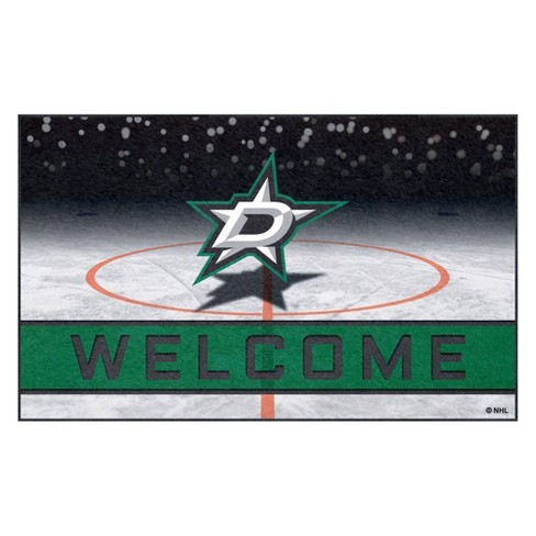 "NHL Dallas Stars Crumb Rubber Door Mat 18""x30"" - image 1 of 1"