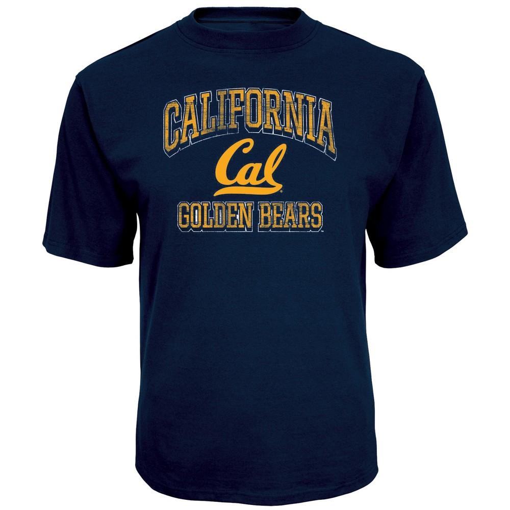 NCAA Men's Short Sleeve TC T-Shirt Cal Golden Bears - Xxl, Multicolored