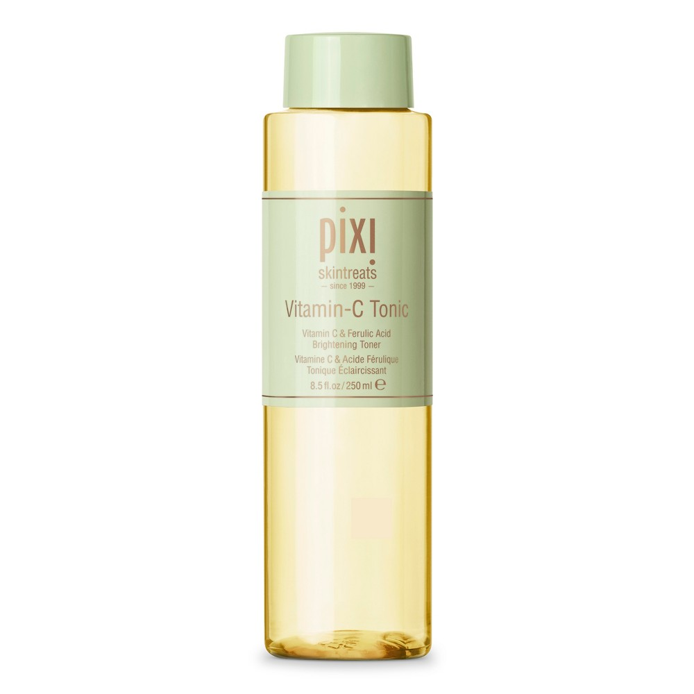 Pixi by Petra Vitamin C Tonic - 8.45 fl oz Vitamin C Tonic 250ml This addition to our bestselling toners is formulated with antioxidant rich Vitamin C, promoting healthy collagen production and boosting skin's luminosity. The probiotics in this brightening toner help to fortify skin's barrier while willow bark and fruit extracts gently exfoliate all skin types. Alcohol free. Gender: Unisex.
