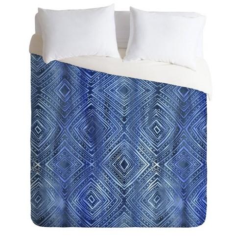 Schatzi Brown Diamonds Comforter Set - Deny Designs - image 1 of 2