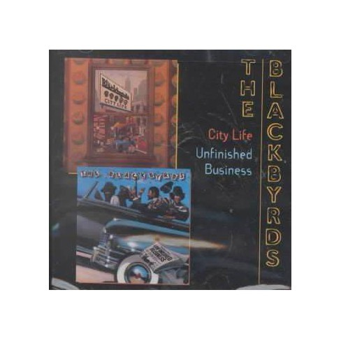 Blackbyrds (The) - City Life/Unfinished Business (CD) - image 1 of 1