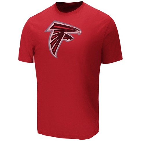 newest fb78e 6eb43 Atlanta Falcons Men's Target Sueded Cotton T-Shirt XL