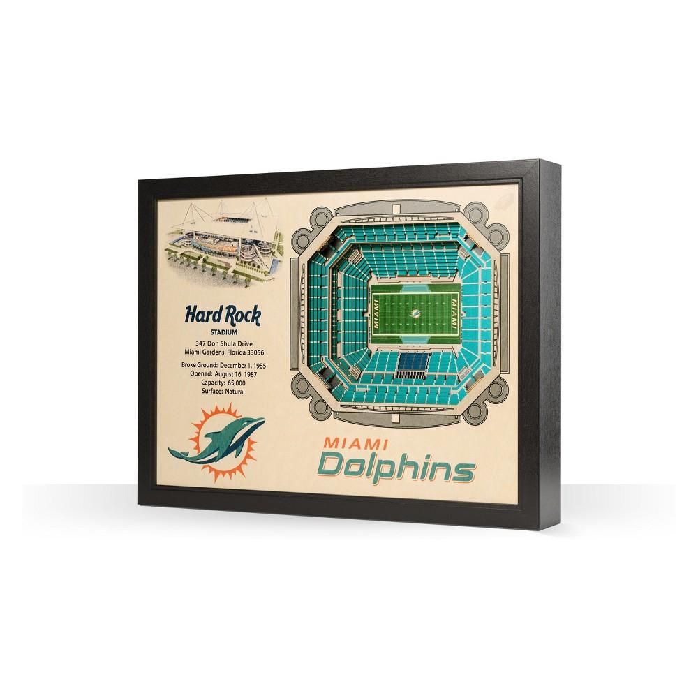 NFL Miami Dolphins StadiumViews Wall Art - Sun Life Stadium
