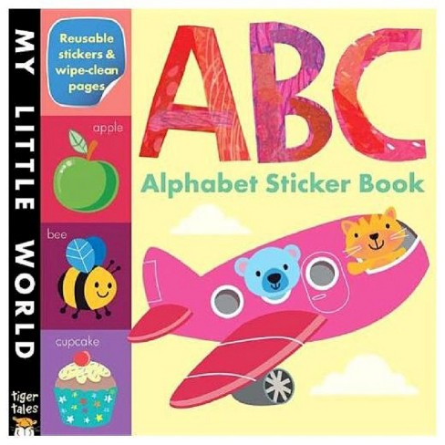 ABC Alphabet Sticker Book Juvenile Fiction by Tiger Tales - image 1 of 1
