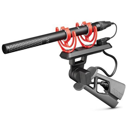 Rode Microphones NTG5 RF-Bias Broadcast Shotgun Microphone with PG2-R Pistol Grip, Windshield, PG2R Pro Cable and Bag - image 1 of 4