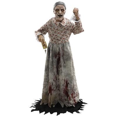Granny Halloween Decorative Holiday Mannequin