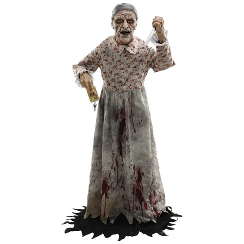 Granny Halloween Decorative Holiday Mannequin - image 1 of 4