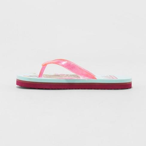 18bebf5f6 Girls  L.O.L Surprise! Flip Flop Sandals - Blue   Target