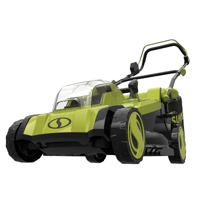 Sun Joe 24V-X2-17LM-CT 48-Volt iON+ Cordless Lawn Mower | 17-inch | 6-Position | Collection Bag | Tool Only.