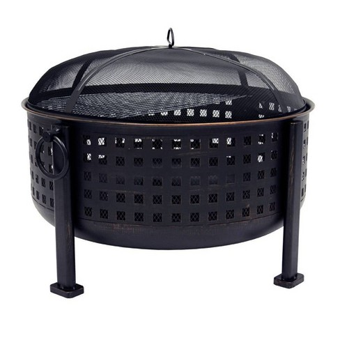 """Pleasant Hearth Langston 30"""" Deep Bowl Fire Pit - image 1 of 4"""