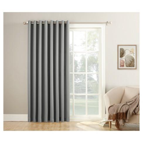 Montego Patio Extra Wide Casual Textured Sliding Door Curtain Panel 84 X100 No 918