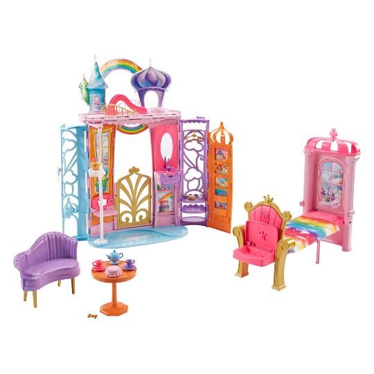 Strange Buy Barbie Dreamtopia Rainbow Cove Collapsible Castle For Usd 26 49 Toysrus Frankydiablos Diy Chair Ideas Frankydiabloscom