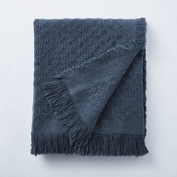 Washed Waffle Cotton Throw - Threshold™ designed with Studio McGee