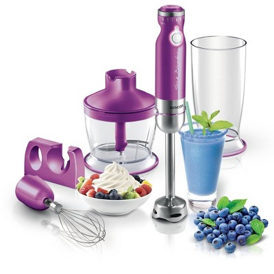 Sencor 6-Speed Stick Blender with Accessories - Violet