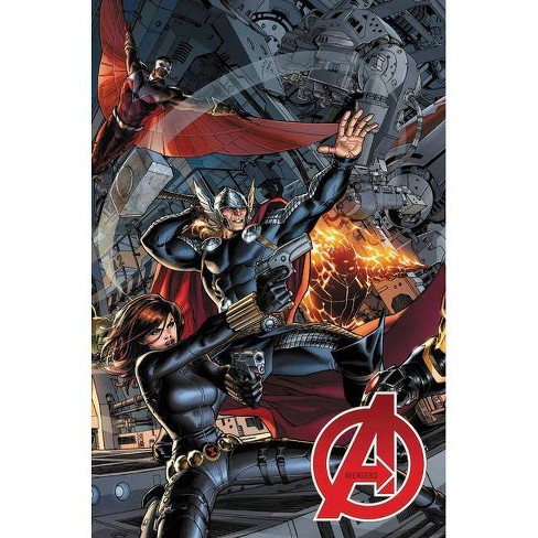 Avengers by Jonathan Hickman: The Complete Collection Vol. 1 - (Paperback) - image 1 of 1