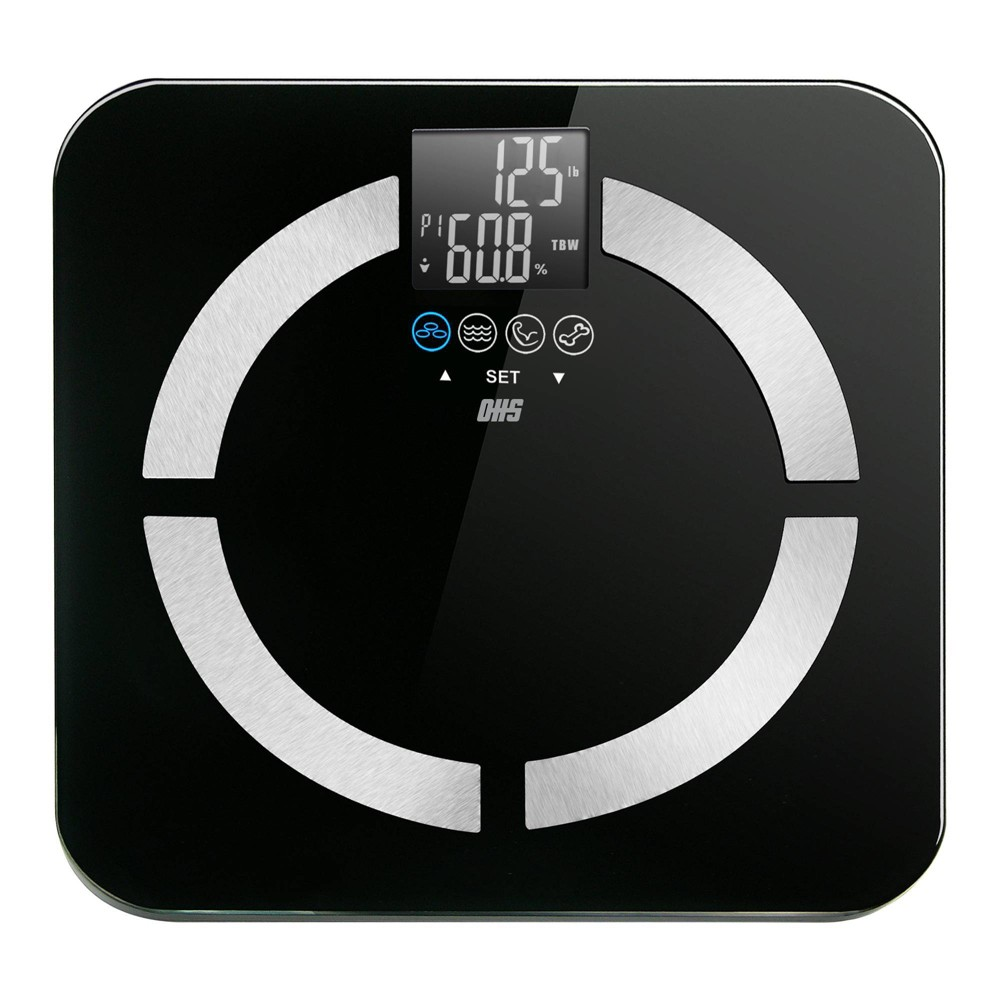 Image of Contour Digital Body Composition Scale Black - Optima Home Scales