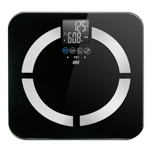 . Contour Digital Body Composition Scale Black   Optima Home Scales