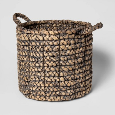 "16""x14.5"" Decorative Basket Gray - Threshold™"