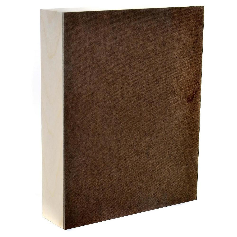 Ampersand Cradled Hardboard, 8x10 - 2pk, White