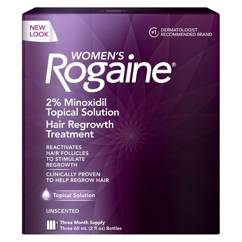 Women's Rogaine 2% Minoxidil Topical Solution - 3 Month Supply - image 1 of 7