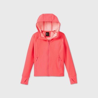 Girls' Woven Fleece Jacket - All in Motion™