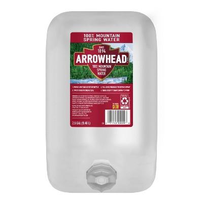 Arrowhead Brand 100% Mountain Spring Water - 2.5 gal Jug
