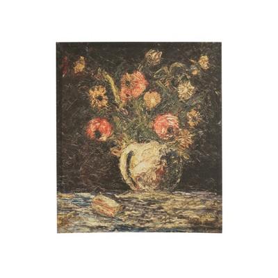 "24"" Vintage Flowers in Vase Framed Wall Canvas Art - 3R Studios"