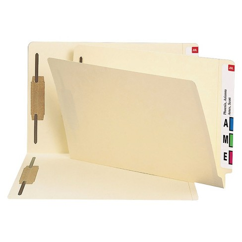 Smead® File Folder 14 Point End Tab Folders Two Fasteners Manila 50ct - image 1 of 1