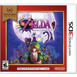 Nintendo Selects: The Legend of Zelda: Majoras Mask 3D - Nintendo 3DS