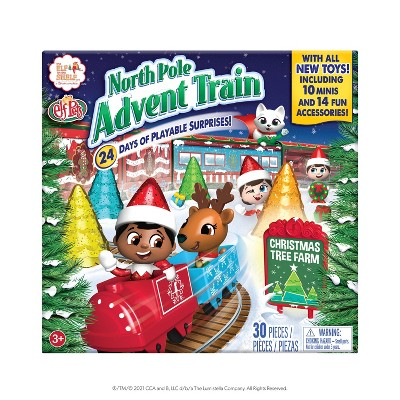 Train Surprise Advent - by Chanda Bell