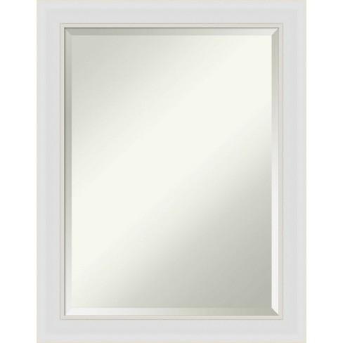 22 X 28 Flair Framed Bathroom Vanity Wall Mirror Soft White Amanti Art Target