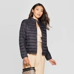 Women's Short Quilted Puffer Jacket - A New Day™