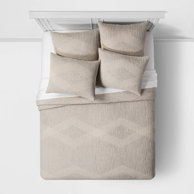 Stripe Matelasse Bedding Collection - Project 62™